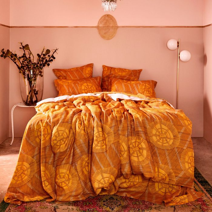 Kip and Co and Babbarra Yellow Bedding
