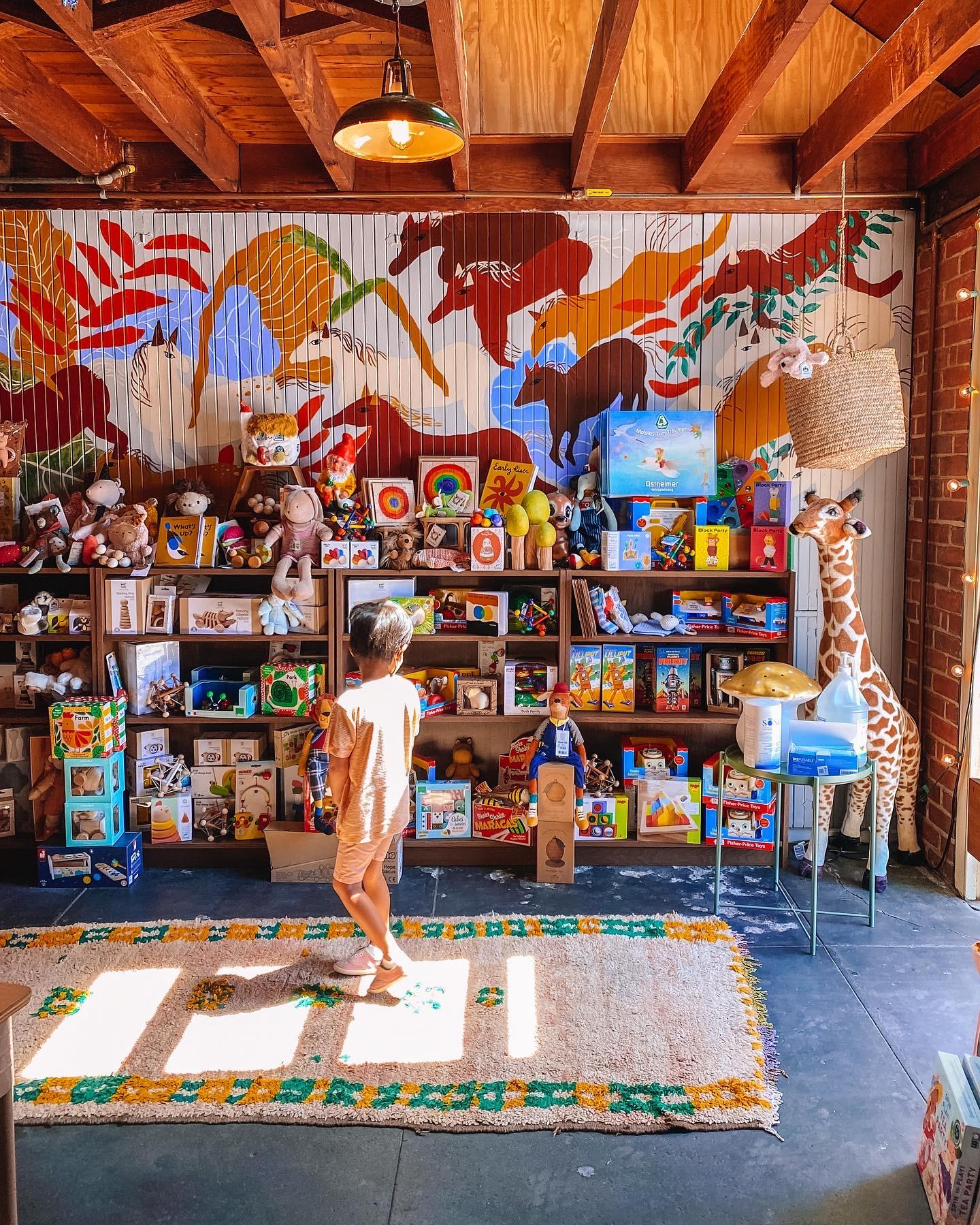 Merci Milo Toy Store in Highland Park