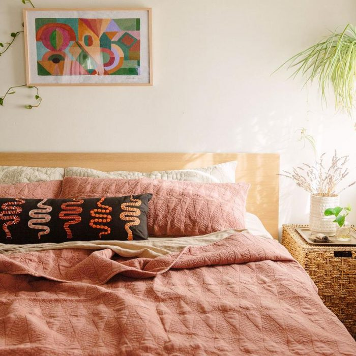 Pink Quilt from Jungalow
