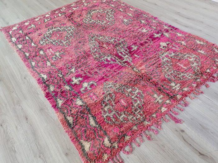 Pink Vintage Moroccan Rug