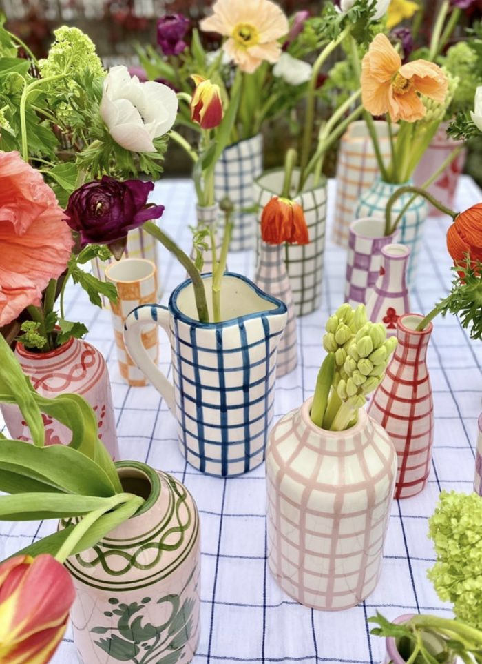 Vaisselle Pottery Gingham