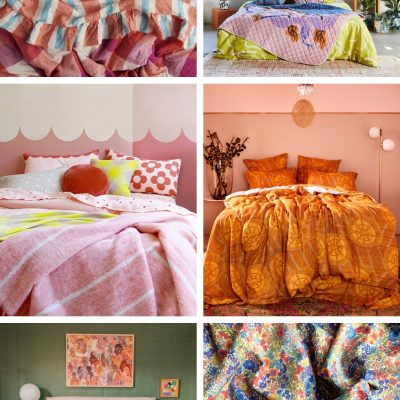 Where To Buy Colorful Bedding (For Kids & Adults!)