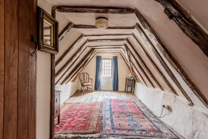 15th Century Freehold Townhouse Attic