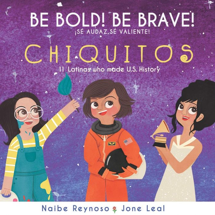 Be Bold Be Brave Chiquitos Bilingual Board Book