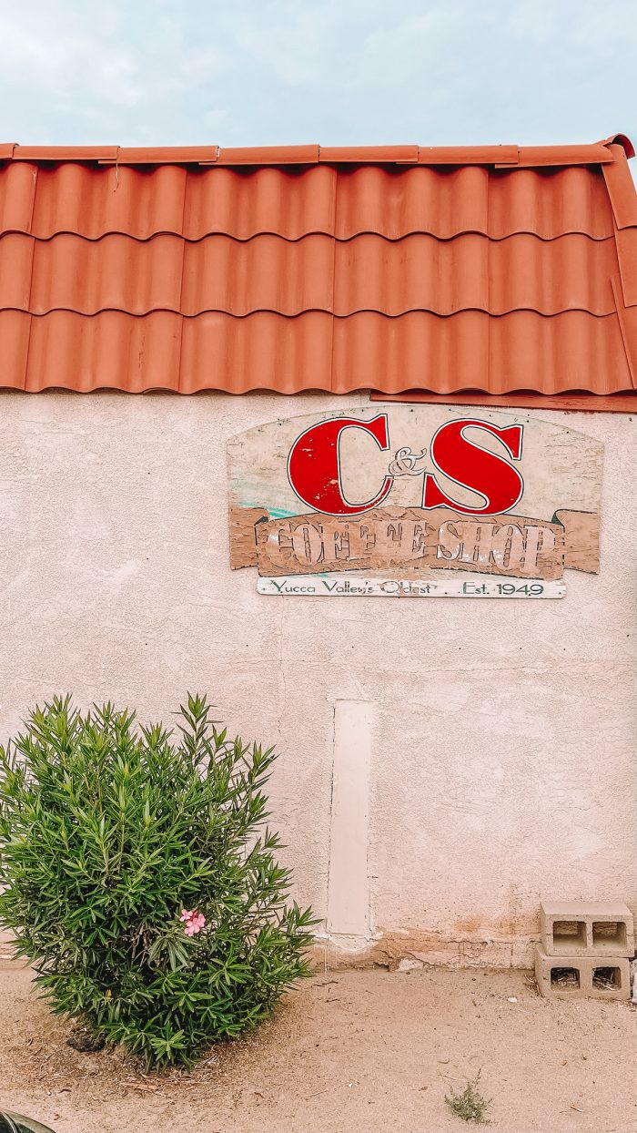 C&S Coffee Shop in Yucca Valley