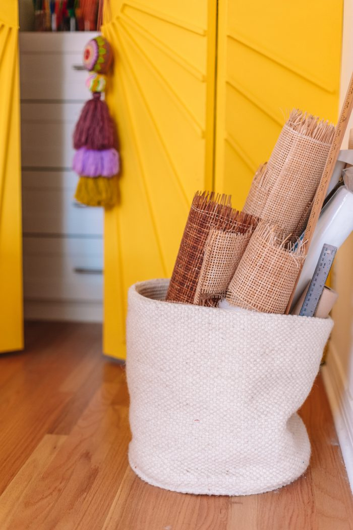 Storage in a craft room and home office