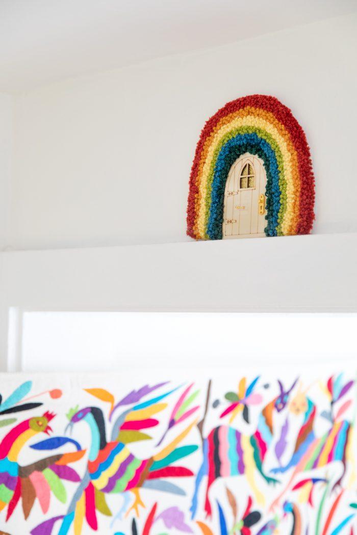 Rainbow Fairy Door