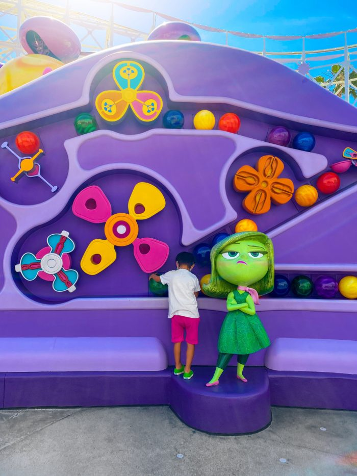 Inside Out Emotional Whirlwind Ride in Disney California Adventure