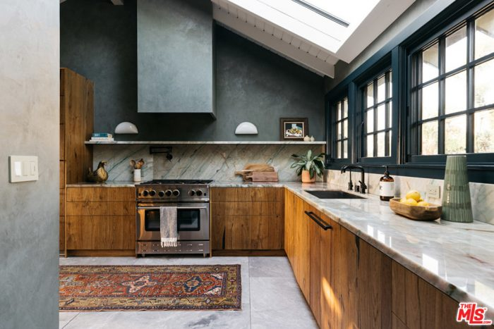 Moody Kitchen 1940s Treehouse Los Angeles