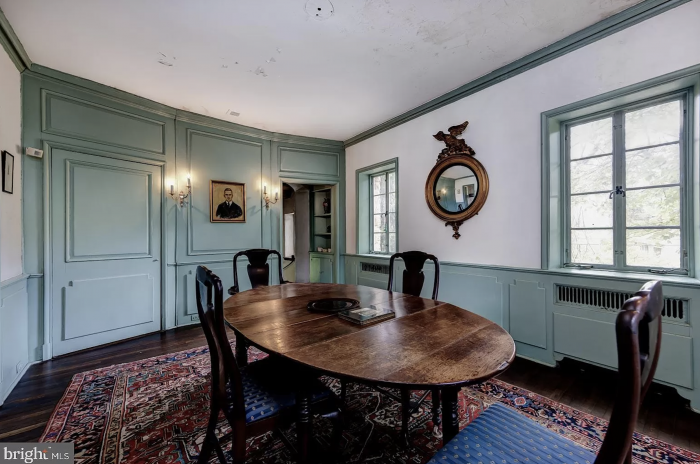 Pennsylvania Castle for Sale Dining Room