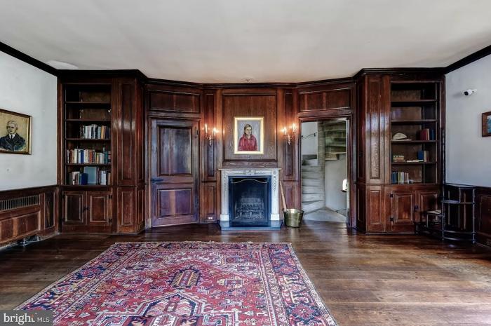 Pennsylvania Castle for Sale Living Area