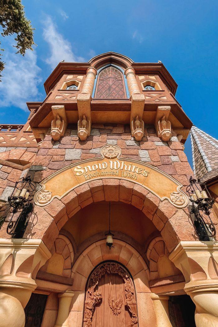 Snow White's Enchanted Wish Ride at Disneyland
