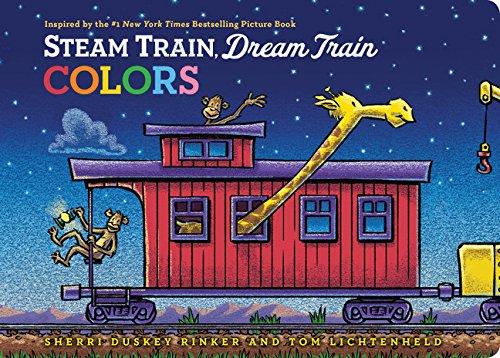 Steam Train Dream Train Board Book