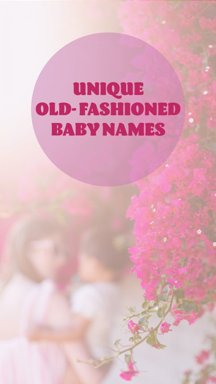 Unique Old Lady Baby Names