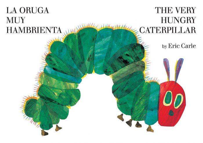 Very Hungry Caterpillar Bilingual Board Book