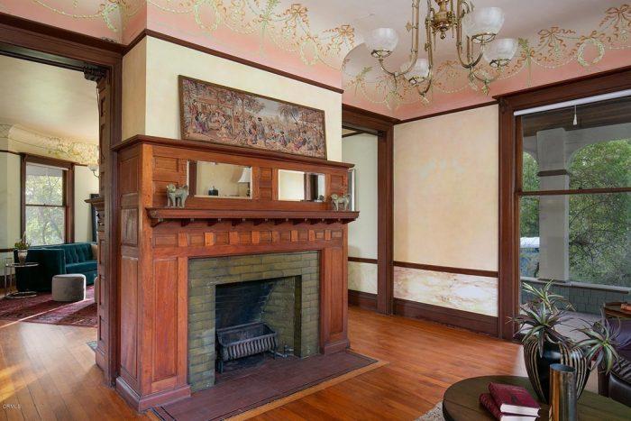 Victorian Home Altadena Ceiling Detail