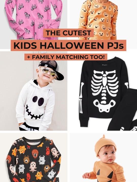 The Cutest Kids Halloween Pajamas