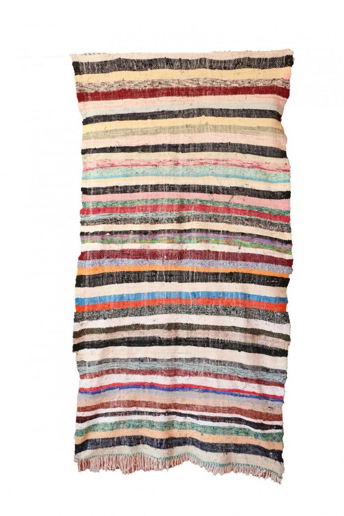 Stripe Moroccan Kilim Rug