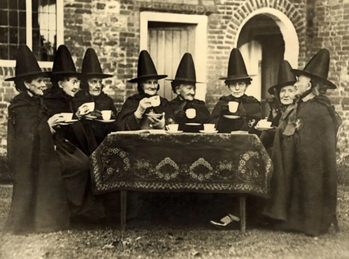 1890 Witches Tea Party