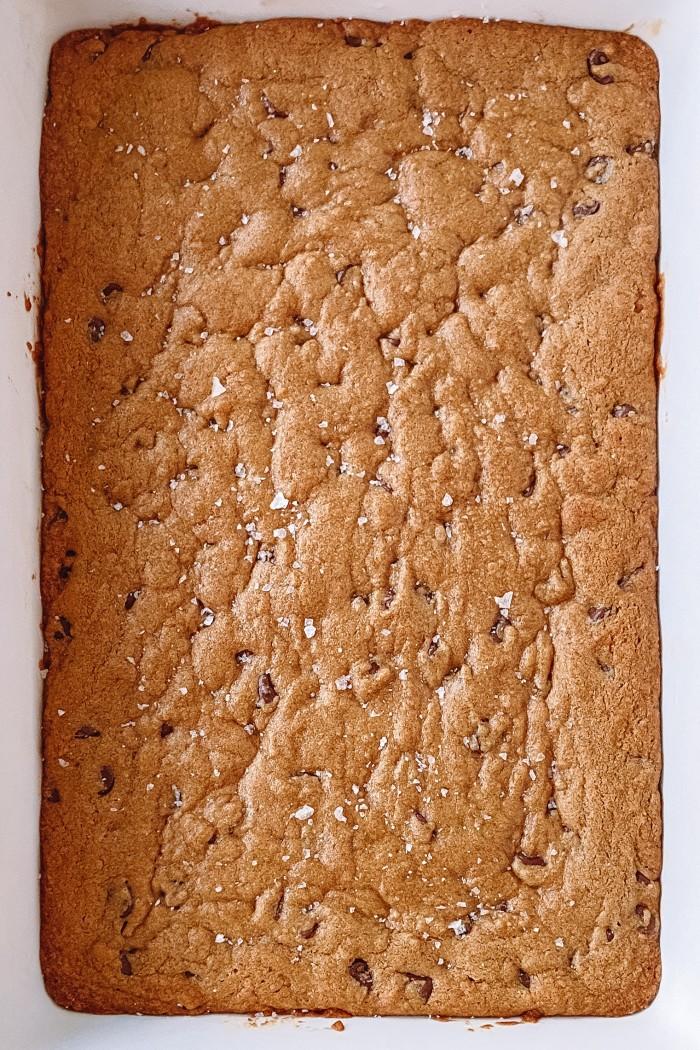 chocolate chip bar pan