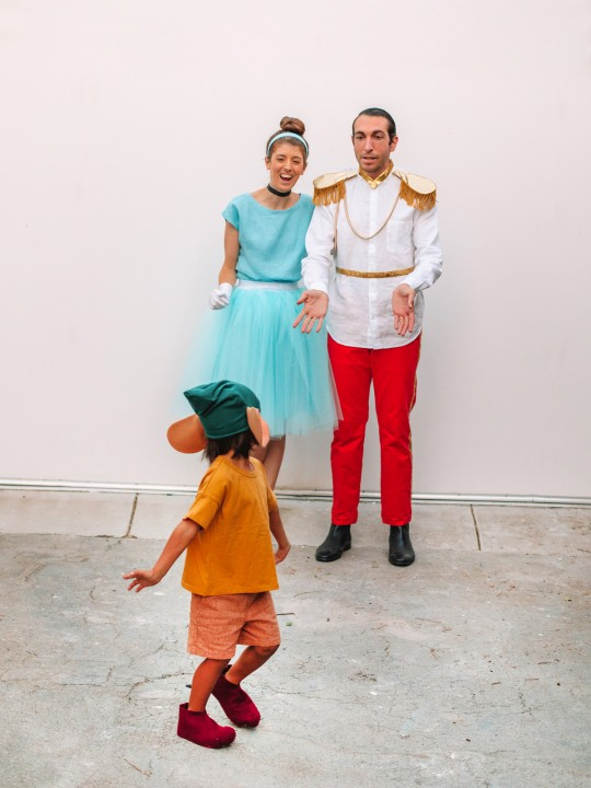 DIY Family Cinderella Costume