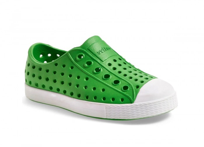 Green Native waterproof kids shoes