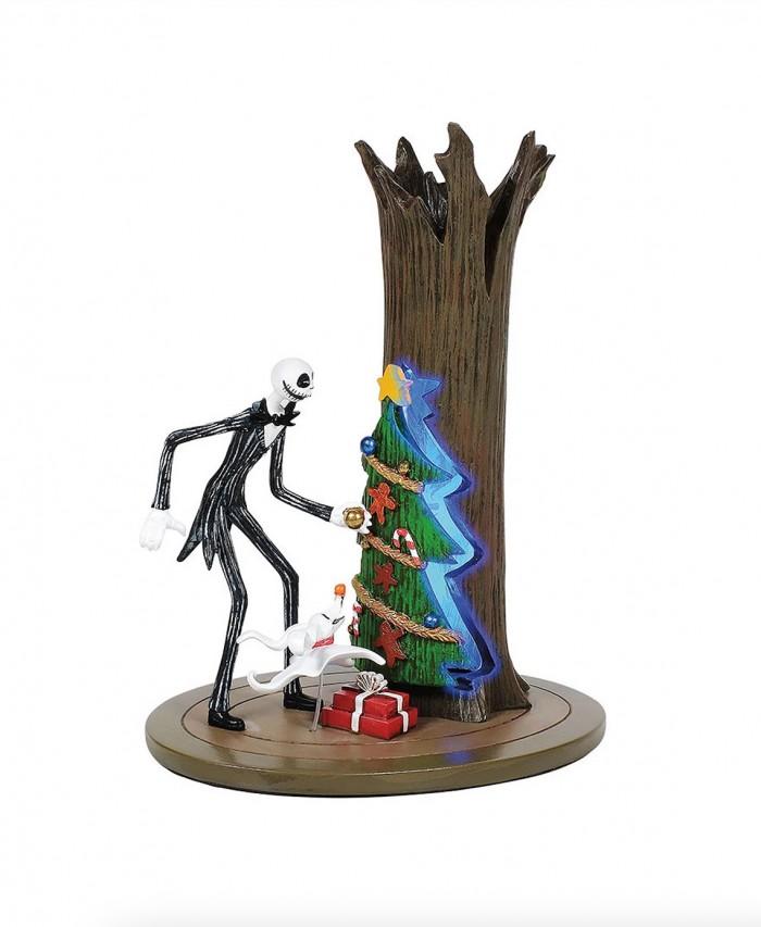 Jack skellington and Christmas Town door sculpture