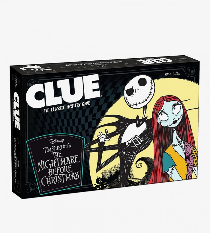 Nightmare Before Christmas Clue Board Game