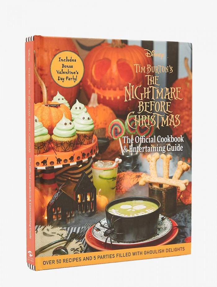 Nightmare Before Christmas Cookbook & Entertaining Guide