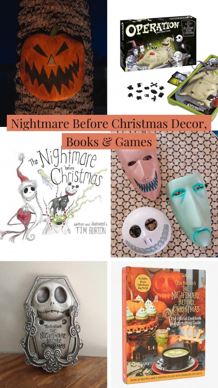 Nightmare Before Christmas Home Decor