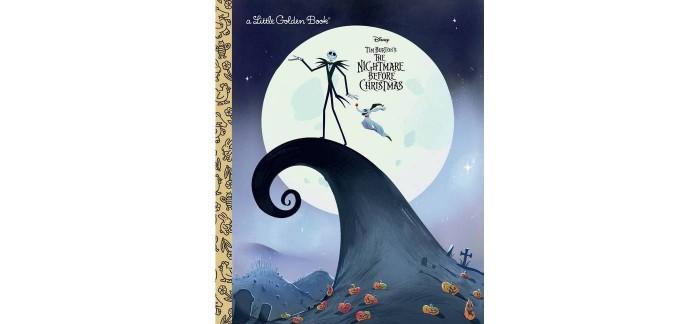 Nightmare Before Christmas Little Golden Book
