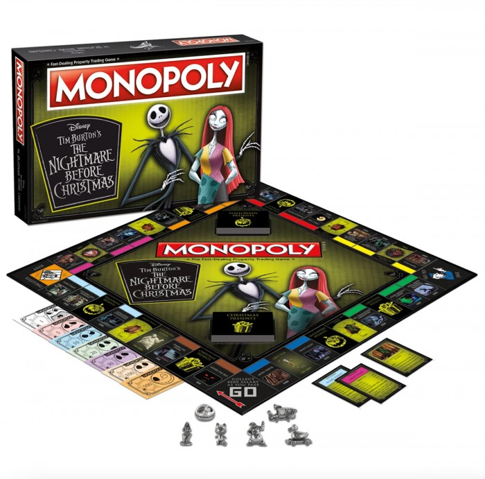 Nightmare Before Christmas Monopoly Game