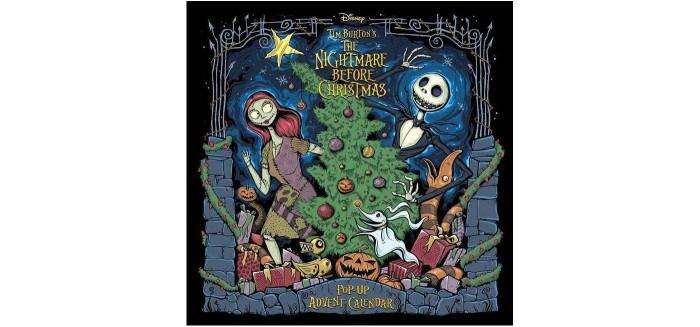 Nightmare Before Christmas Pop Up Book & Advent Calendar
