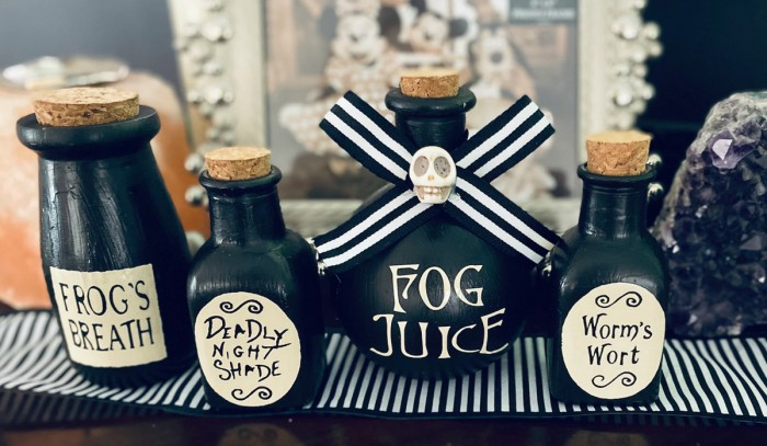 Sally's Potion Jars from Nightmare Before Christmas