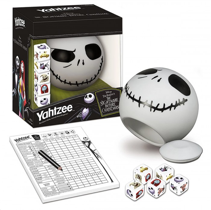 Nightmare Before Christmas Yahtzee Game