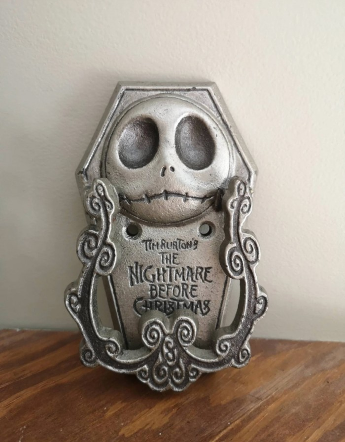 Vintage Nightmare Before Christmas Door Knocker