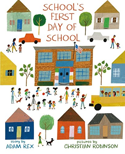 School's First Day of School book cover