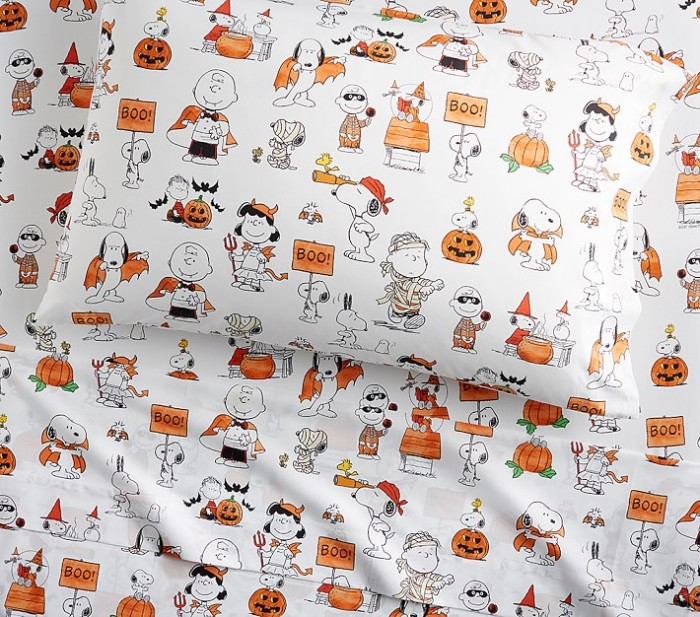Snoopy and Friends Halloween Sheets