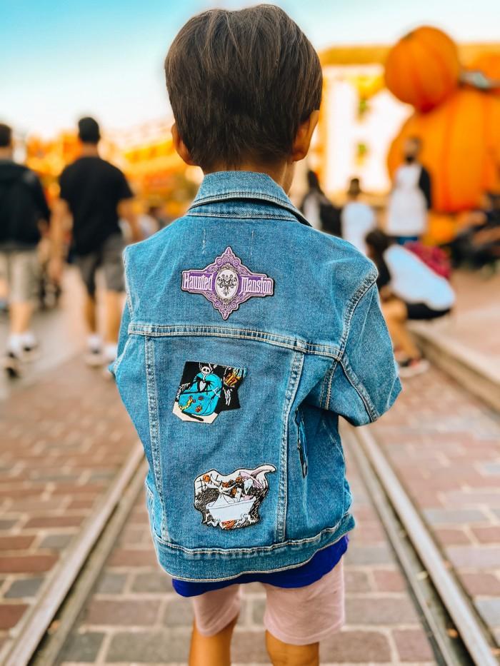 Disney and Haunted Mansion Denim Jacket on Child